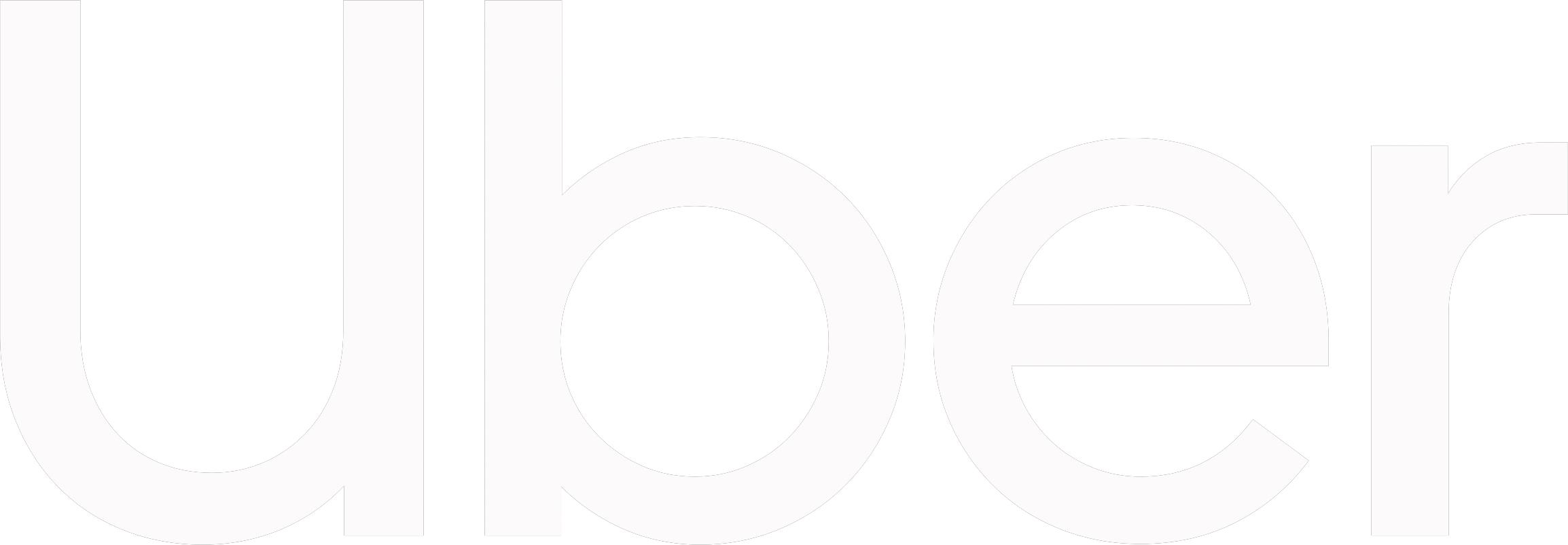 Uber Logo White