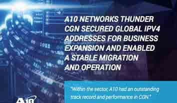 CableTV Case Study, Thunder CGN Secured Global IPv4 Addresses