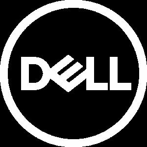 Dell Logo White