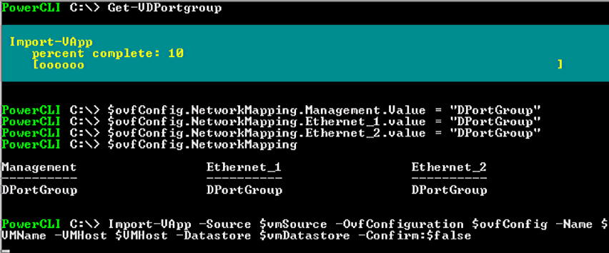Using PowerCLI to Install vThunder | A10 Networks