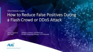 How to protect users during flash crowd or DDoS attack