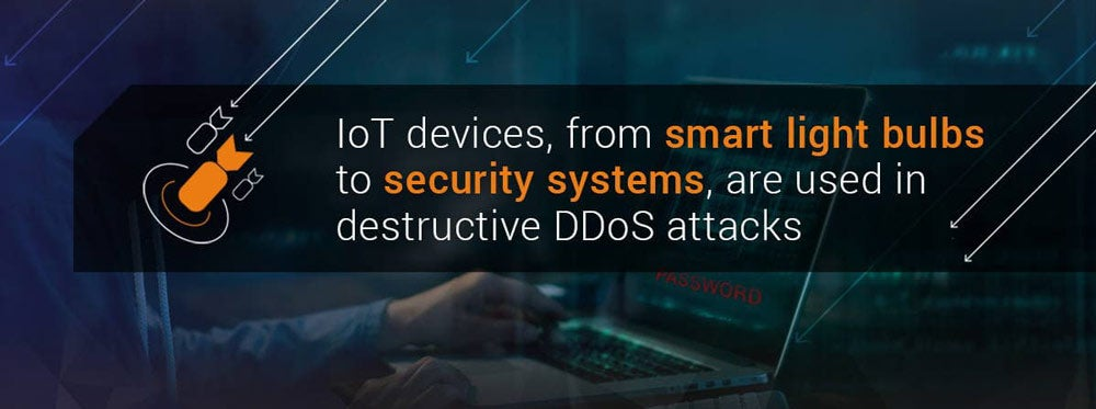 IoT and DDoS: Cyberattacks on the Rise