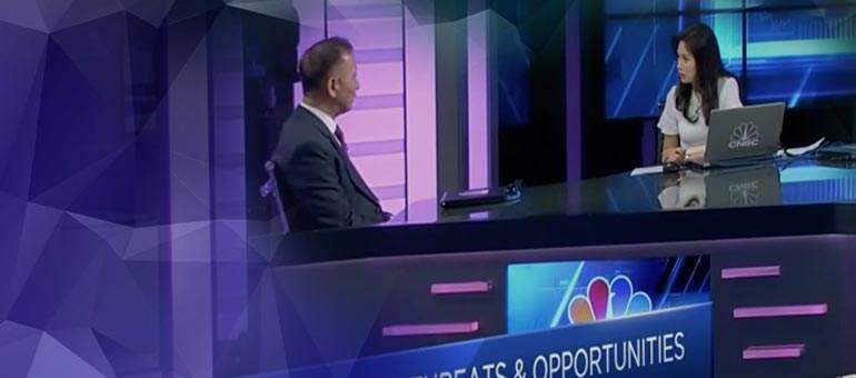 A10 CEO Lee Chen on CNBC: The Cybersecurity Game