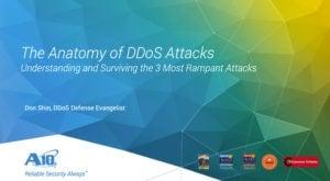 The Anatomy of DDoS Attacks Webinar