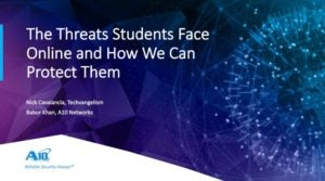 Threats Students Face Online and How We Can Protect Them