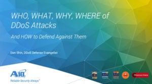 How to Defend Against DDoS Attacks Webinar